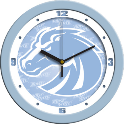 Boise State Broncos 12″ Blue Wall Clock