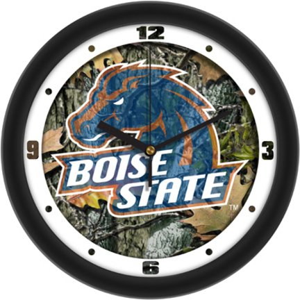 Boise State Broncos 12″ Camo Wall Clock