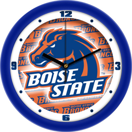 Boise State Broncos 12″ Dimension Wall Clock