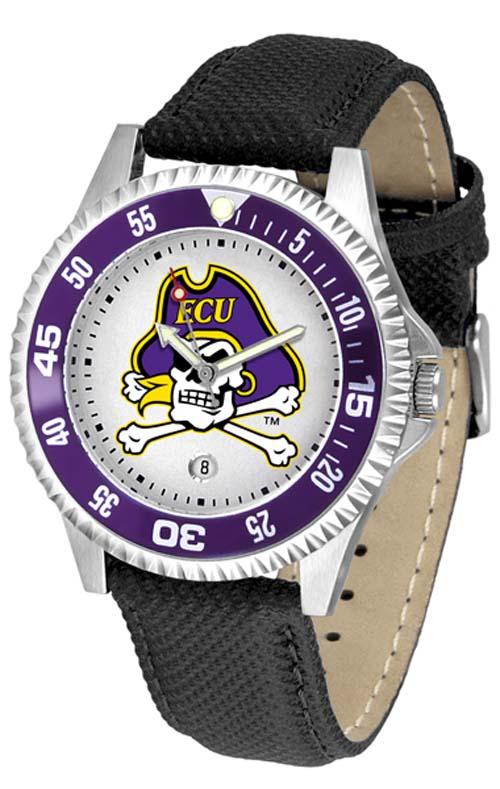 East Carolina Pirates Competitor Men's Watch by Suntime