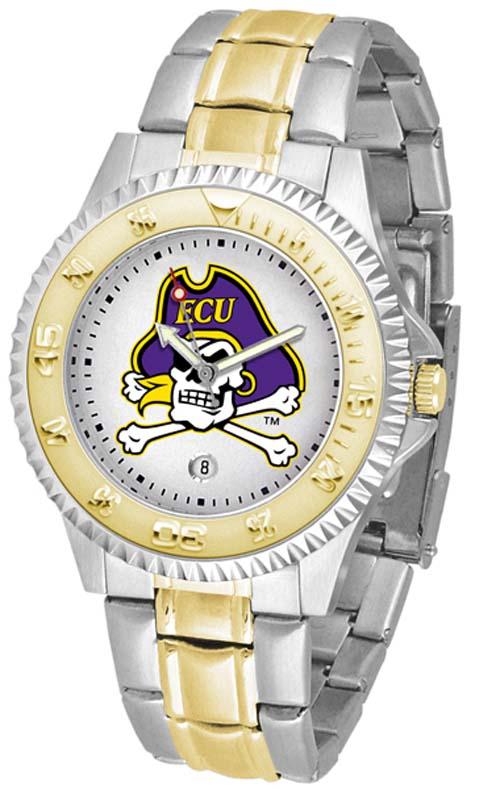 East Carolina Pirates Competitor Two Tone Watch