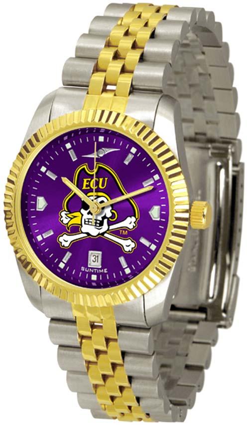East Carolina Pirates Executive AnoChrome Men's Watch