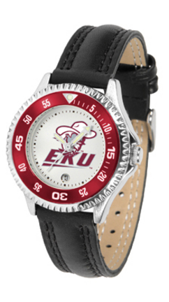 Eastern Kentucky Colonels Competitor Ladies Watch with Leather Band
