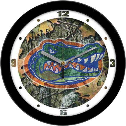 Florida Gators 12 inch Camo Wall Clock