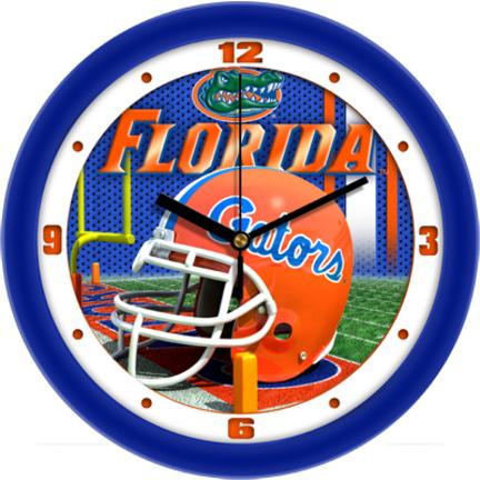 Florida Gators 12 inch Helmet Wall Clock