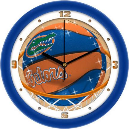 Florida Gators Slam Dunk 12 inch Wall Clock