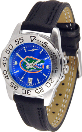 Florida Gators Sport AnoChrome Ladies Watch with Leather Band