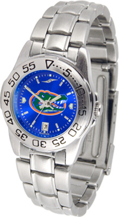 Florida Gators Sport AnoChrome Ladies Watch with Steel Band
