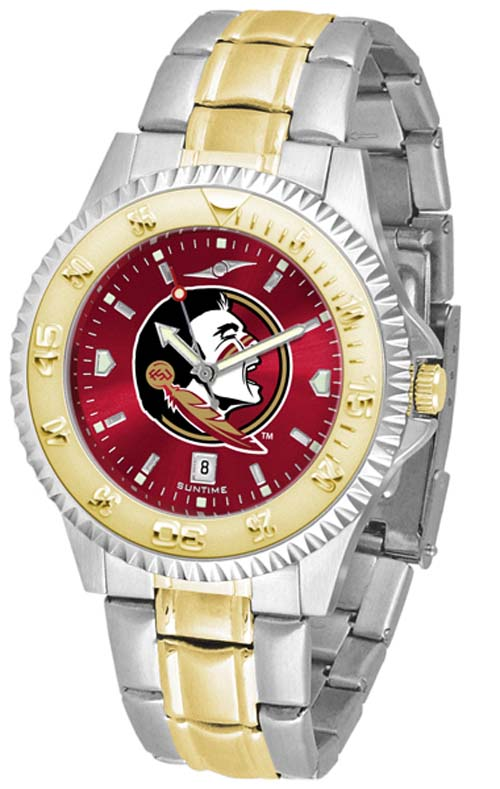 Florida State Seminoles Competitor AnoChrome Two Tone Watch