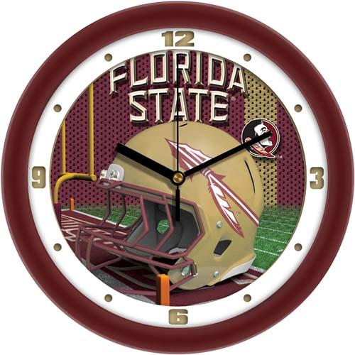 Florida State Seminoles 12 inch Helmet Wall Clock