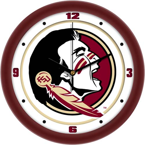 Florida State Seminoles Traditional 12 inch Wall Clock