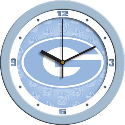 Georgia Bulldogs 12 inch Blue Wall Clock