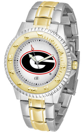 Georgia Bulldogs Competitor Two Tone Watch