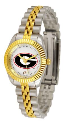Georgia Bulldogs Ladies Executive Watch by Suntime