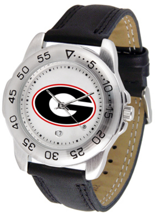 Georgia Bulldogs Gameday Sport Men's Watch by Suntime