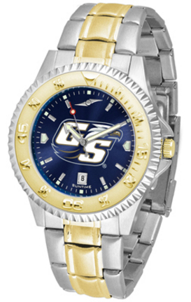 Georgia Southern Eagles Competitor AnoChrome Two Tone Men's Watch