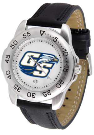 Georgia Southern Eagles Men's Sport Watch with Leather Band