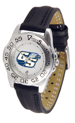 Georgia Southern Eagles Ladies Sport Watch with Leather Band