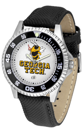 Georgia Tech Yellow Jackets Competitor Men's Watch by Suntime
