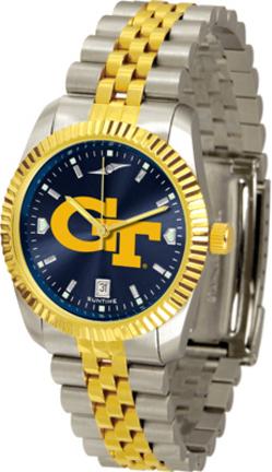 Georgia Tech Yellow Jackets Executive AnoChrome Men's Watch
