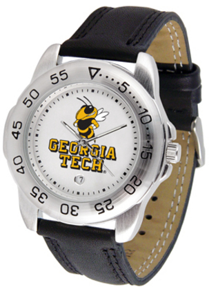 Georgia Tech Yellow Jackets Gameday Sport Men's Watch by Suntime