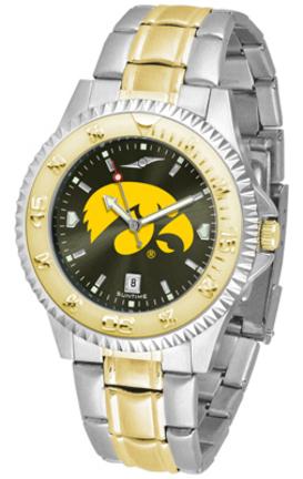 Iowa Hawkeyes Competitor AnoChrome Men's Two Tone Watch