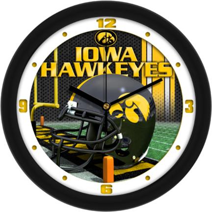 Iowa Hawkeyes 12 inch Helmet Wall Clock