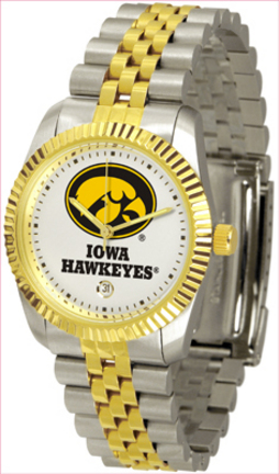 Iowa Hawkeyes 'The Executive' Men's Watch