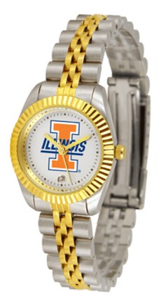 Illinois Fighting Illini Ladies Executive Watch by Suntime
