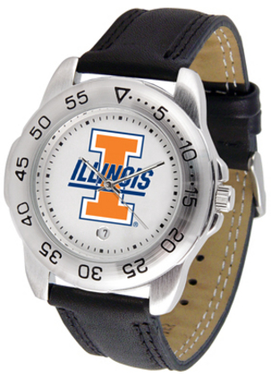 Illinois Fighting Illini Gameday Sport Men's Watch by Suntime