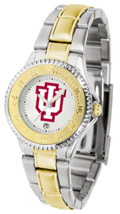 Indiana Hoosiers Competitor Two-Tone Ladies Watch