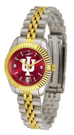 Indiana Hoosiers Ladies' Executive AnoChrome Watch