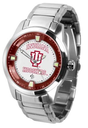 Indiana Hoosiers Titan Steel Watch