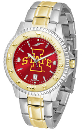 Iowa State Cyclones Competitor AnoChrome Two Tone Men's Watch