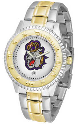 James Madison Dukes Competitor Two Tone Men's Watch