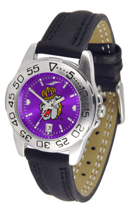 James Madison Dukes Sport AnoChrome Ladies Watch with Leather Band
