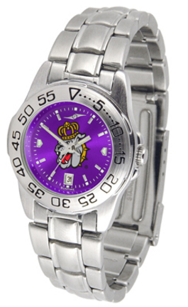 James Madison Dukes Sport AnoChrome Ladies Watch with Steel Band