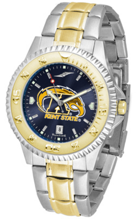 Kent State Golden Flashes Competitor AnoChrome Two Tone Men's Watch