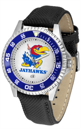 Kansas Jayhawks Competitor Men's Watch by Suntime