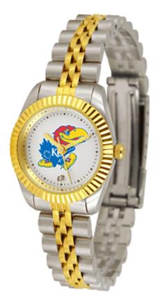 Kansas Jayhawks Ladies Executive Watch by Suntime