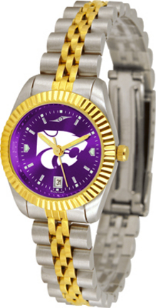 Kansas State Wildcats Ladies Executive AnoChrome Watch