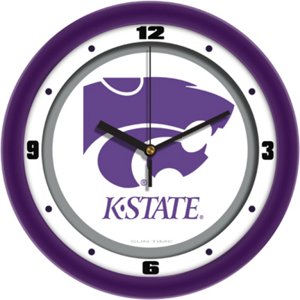 Kansas State Wildcats Traditional 12 inch Wall Clock