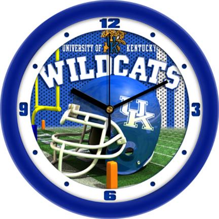 Kentucky Wildcats 12 inch Helmet Wall Clock