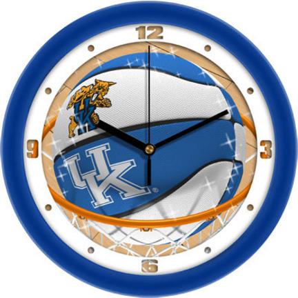 Kentucky Wildcats Slam Dunk 12 inch Wall Clock