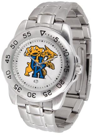 Kentucky Wildcats Sport Steel Band Men's Watch