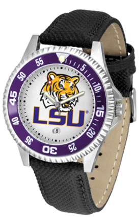 Louisiana State (LSU) Tigers Competitor Men's Watch by Suntime