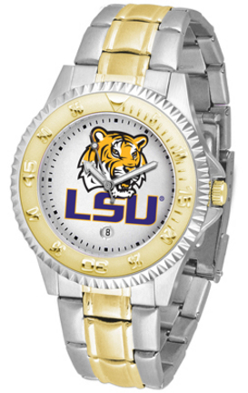 Louisiana State (LSU) Tigers Competitor Two Tone Watch