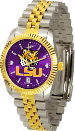 Louisiana State (LSU) Tigers Executive AnoChrome Men's Watch