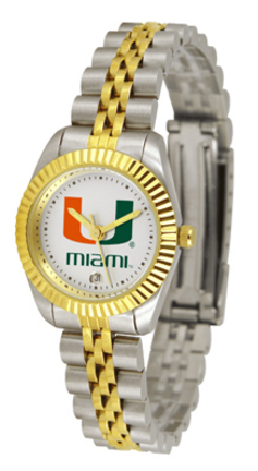 Miami Hurricanes Ladies Executive Watch by Suntime