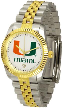 Miami Hurricanes 'The Executive' Men's Watch